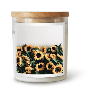 Sunflowers Soy Candle ~ The Commonfolk Collective - Actually Boutique