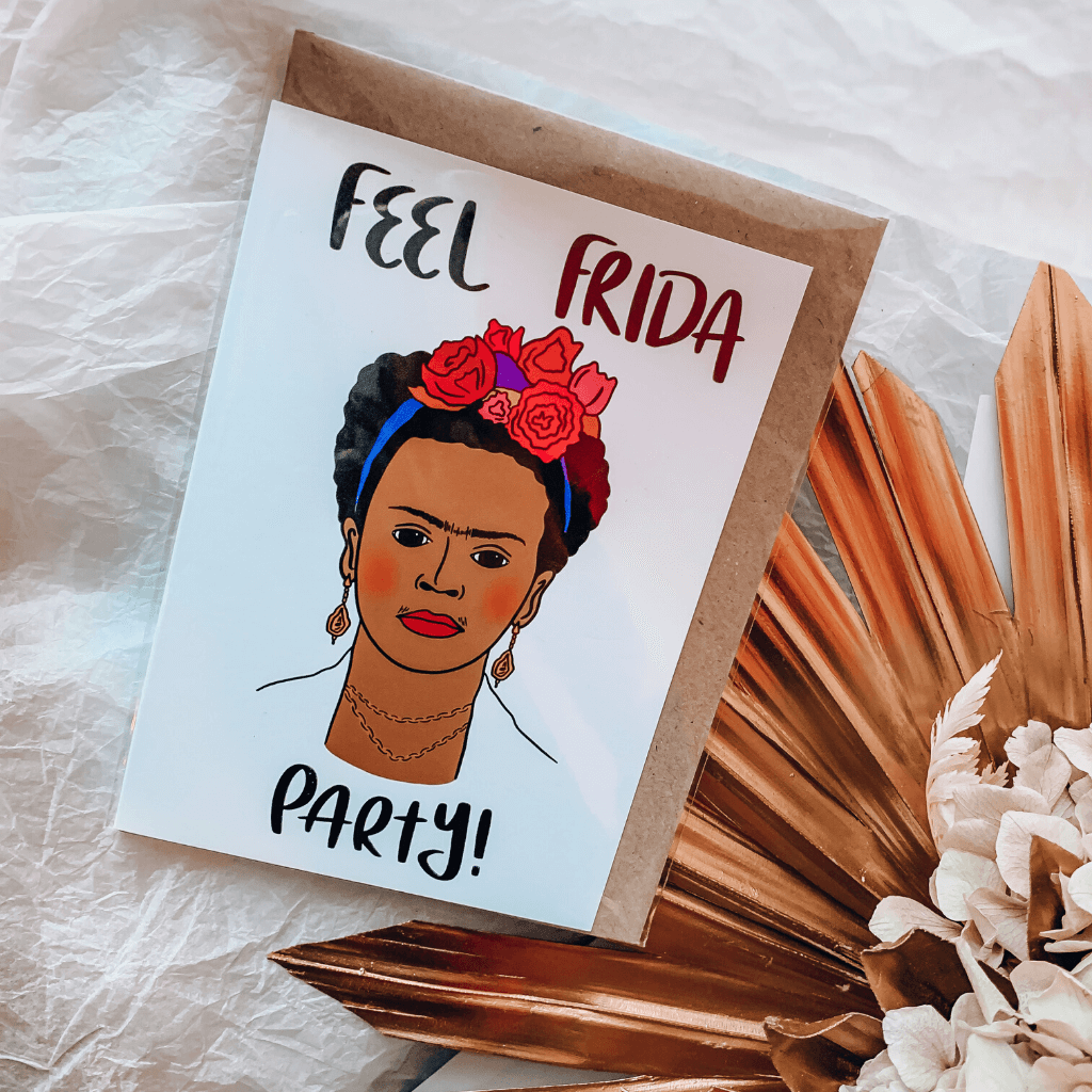 Frida Kahlo ~ Greeting Card ~ K-Rae Designs - Actually Boutique