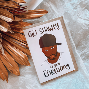 50 Cent ~ Greeting Card ~ K-Rae Designs - Actually Boutique