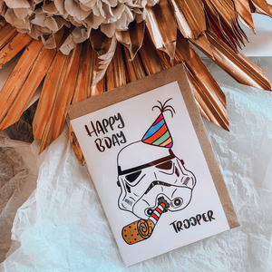 Storm Trooper ~ Greeting Card ~ K-Rae Designs - Actually Boutique