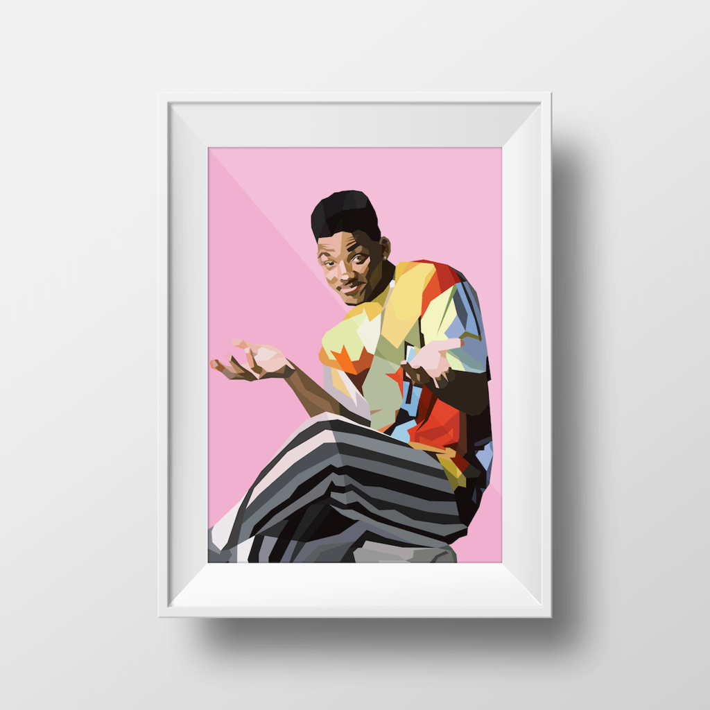 The Fresh Prince ~ A3 Unframed ~ DG Designs - Actually Boutique