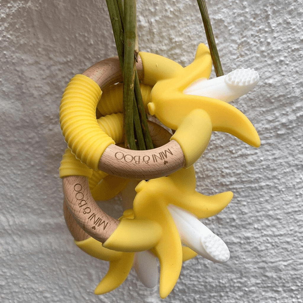 Banana Teether ~ Mini and Boo - Actually Boutique