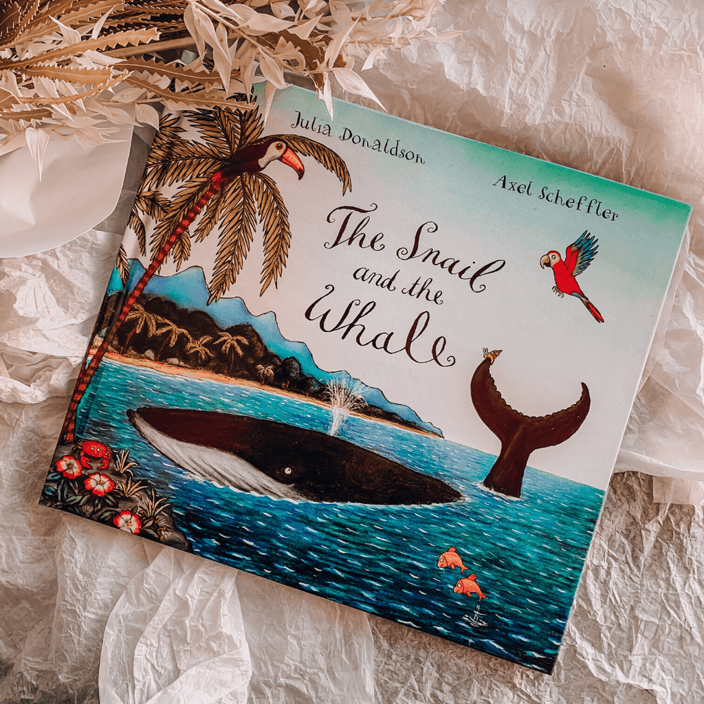 The Snail and the Whale ~ Julia Donaldson + Axel Scheffler - Actually Boutique