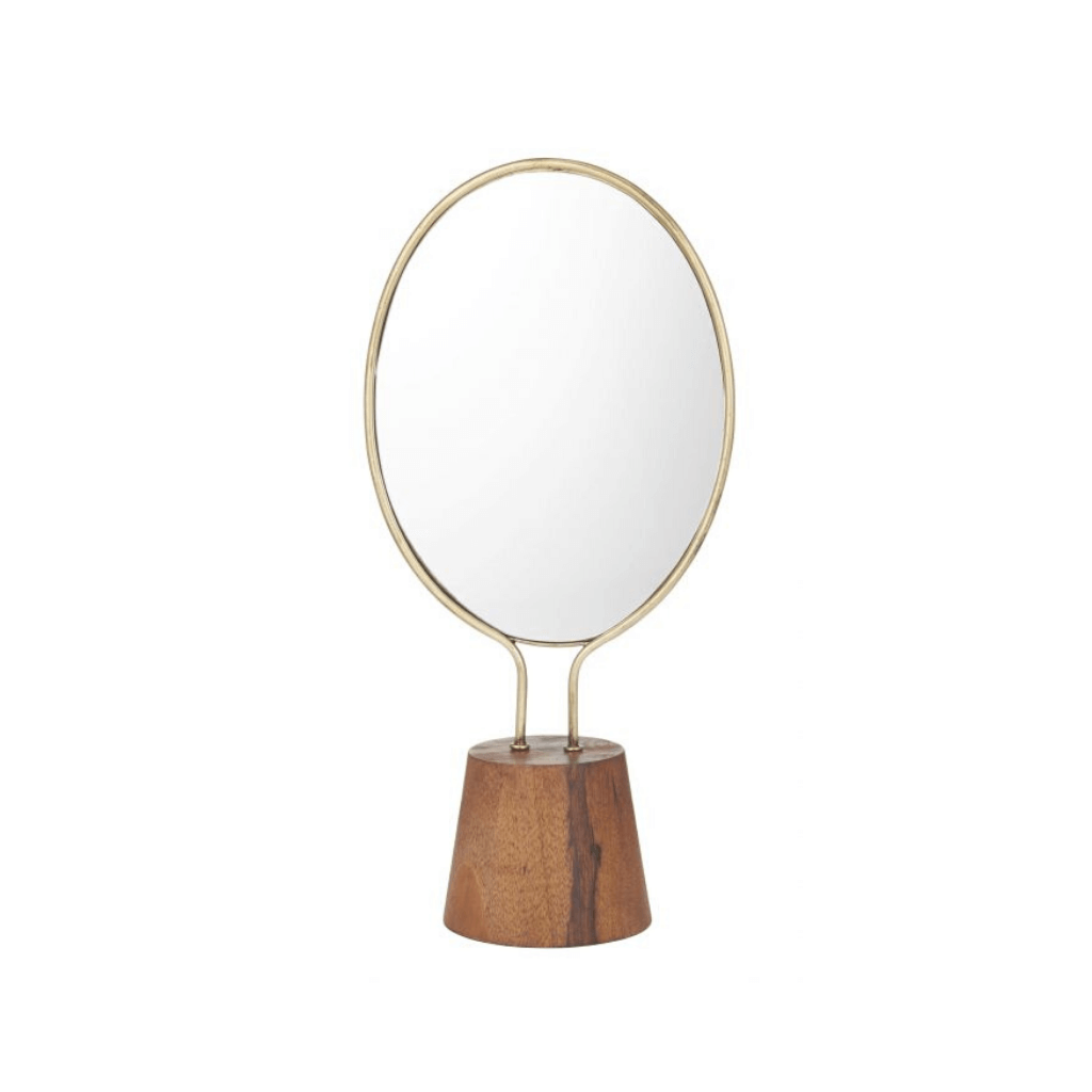 Beafort Mirror ~ Gold - Actually Boutique
