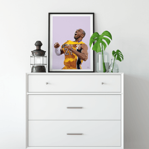 Kobe Bryant #24 ~ A3 Unframed ~ DG Designs - Actually Boutique