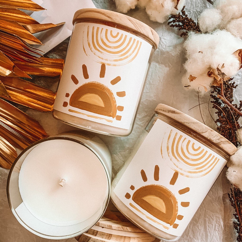 Under The Same Sun Soy Candle by Natalie Jade ~ The Commonfolk Collective - Actually Boutique