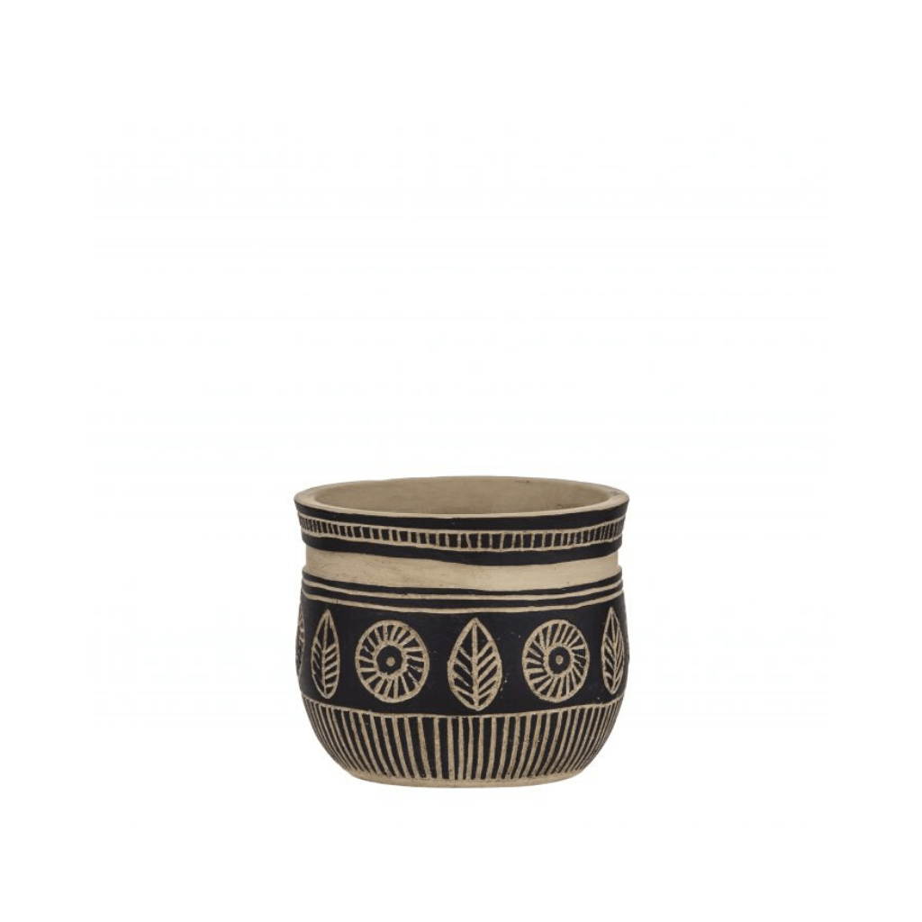 Darian Pot ~ Black - Actually Boutique