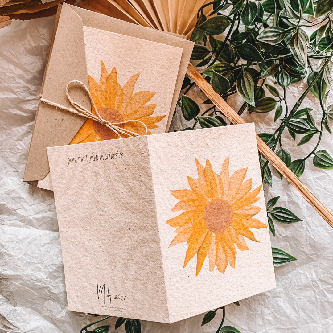 Read Me, Plant Me & Watch Me Grow ~ You're My Sunshine ~ Milky Designs - Actually Boutique