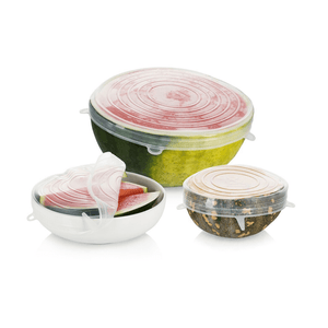 Large Reusable Stretch Lids - Set of 6 ~ Seed & Sprout - Actually Boutique