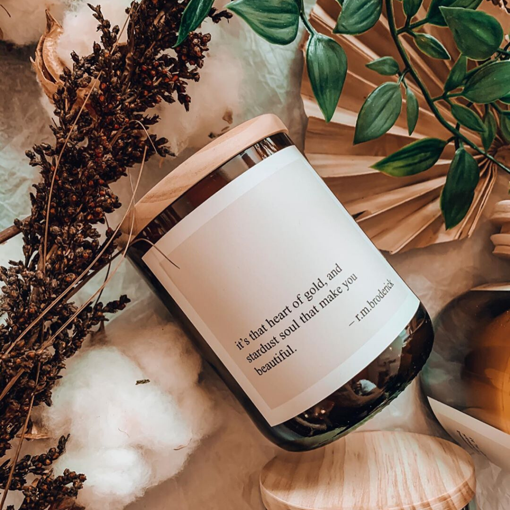Heart Of Gold Soy Candle ~ The Commonfolk Collective - Actually Boutique