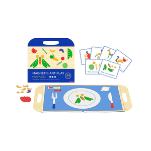 Magnetic Play Set ~ Food Puzzle - Actually Boutique