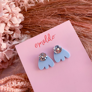 Kiama Earrings ~ Baby Blue ~ Emeldo - Actually Boutique