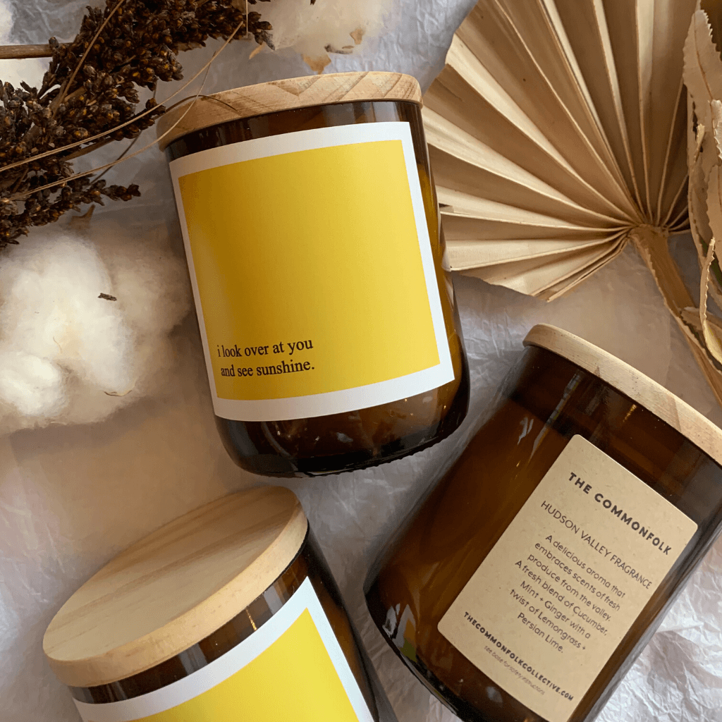 Sunshine Soy Candle ~ The Commonfolk Collective - Actually Boutique