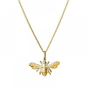 Bee Necklace ~ Gold - Actually Boutique