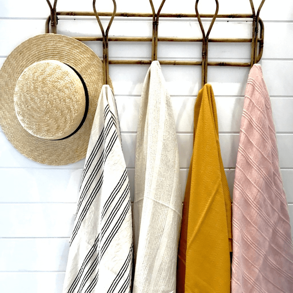Linen Turkish Towel ~ Santorini ~ One Fine Sunday Co - Actually Boutique