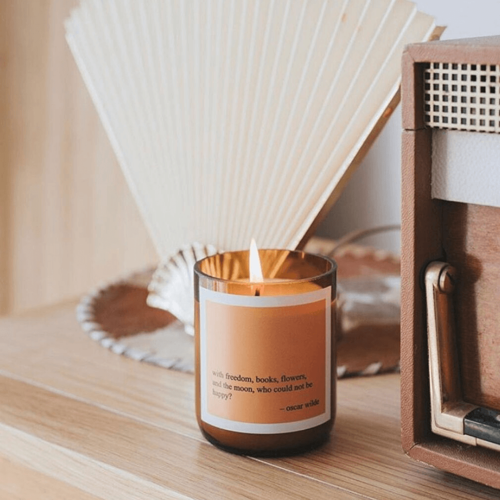 Heartfelt Quote Soy Candle ~ Freedom ~ The Commonfolk Collective - Actually Boutique