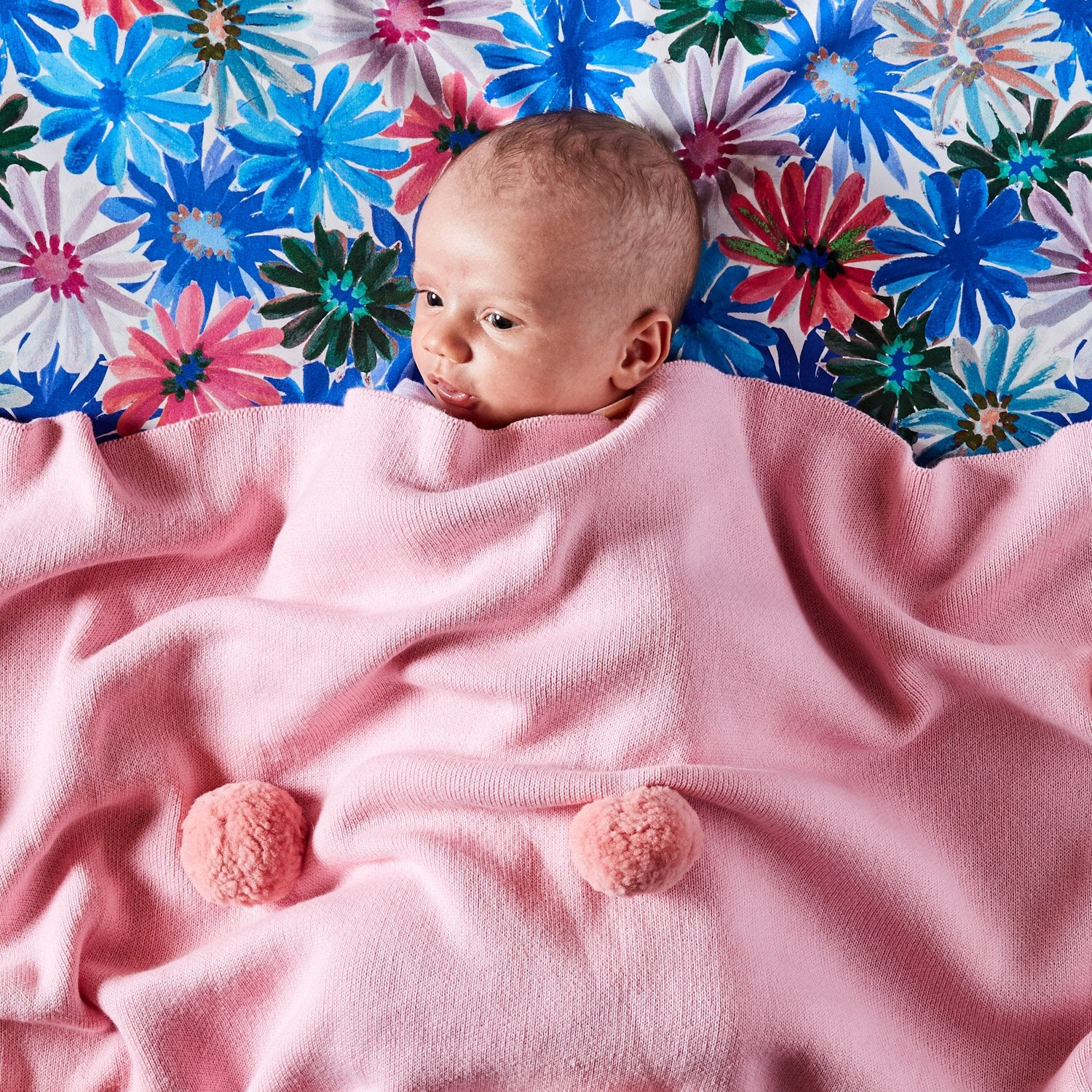 Pom Pom Blanket ~ Candy Cotton ~ Kip and Co - Actually Boutique