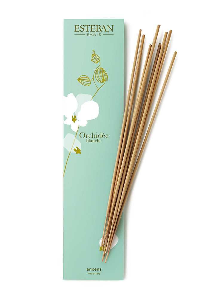 <b>Esteban</b>  <br>White Orchid Bamboo Incense