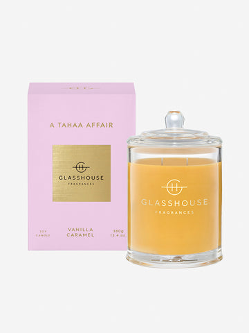 <b>Glasshouse Fragrances</b>  <br>A Tahaa Affair 380g Soy Candle