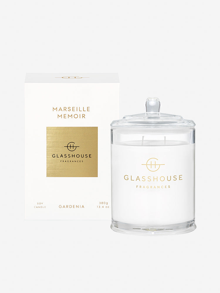 <b>Glasshouse Fragrances</b>  <br>Marseille Memoir 380g Soy Candle