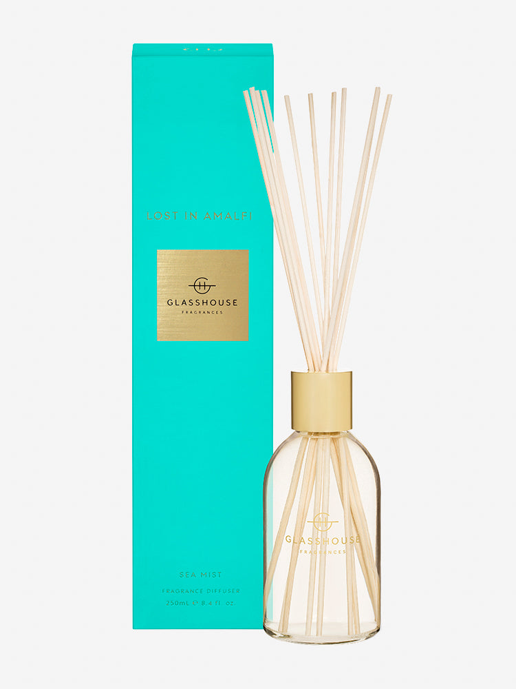 <b>Glasshouse Fragrances</b>  <br>Lost in Amalfi Fragrance Diffuser