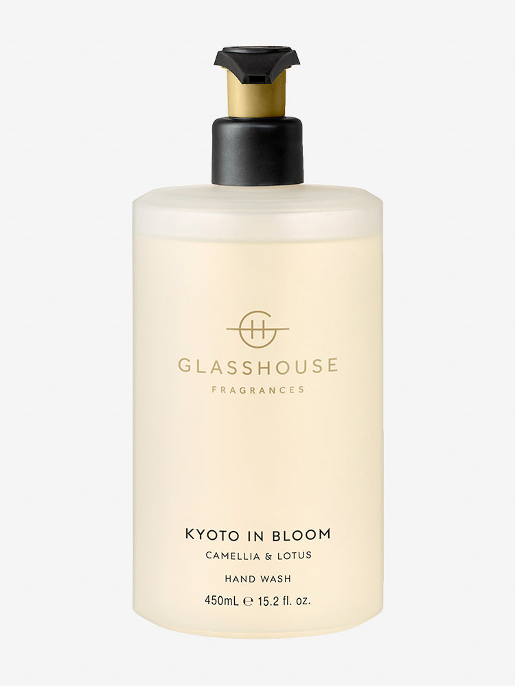 <b>Glasshouse Fragrances</b>  <br>Kyoto in Bloom Hand Wash