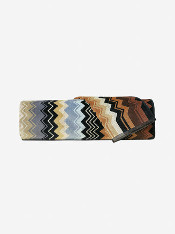 <b>Missoni</b>  <br>160 Giacomo Bath Sheet