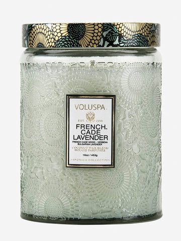 <b>Voluspa</b>  <br>French Cade & Lavender 100hr Candle
