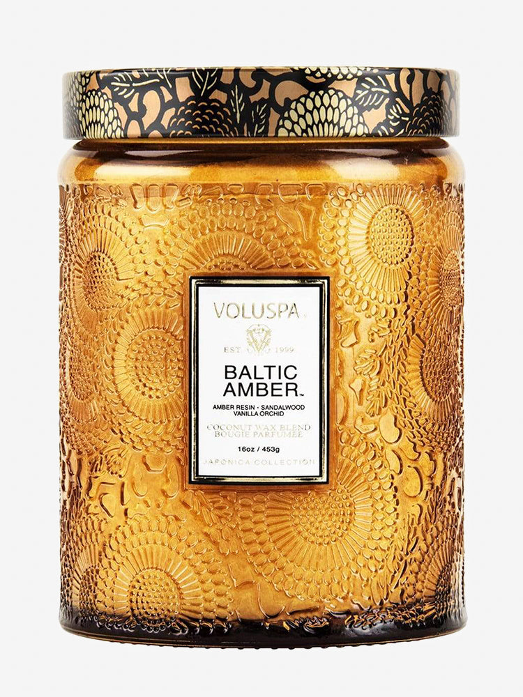 <b>Voluspa</b>  <br>Baltic Amber 100hr Candle