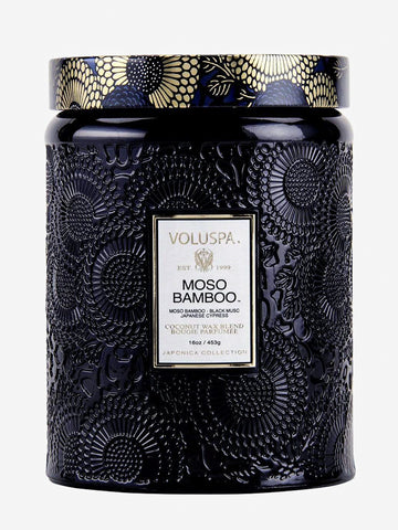 <b>Voluspa</b>  <br>Moso Bamboo 100hr Candle