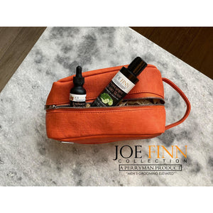 Leather Signature Toiletry Bag - Joe Finn Collection