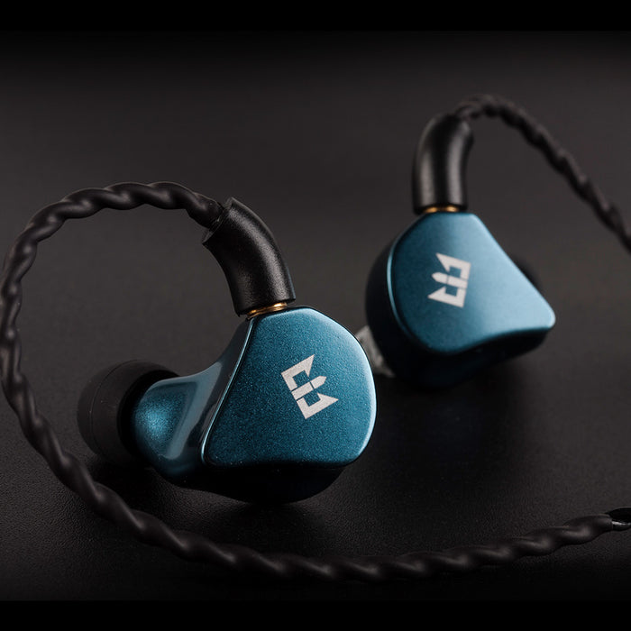 TRI I4 In Ear Earphone Headset DJ Monitor HiFi Gaming Earplug  1BA+1DD Hybrid Unit MMCX Connector