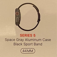 *NEW* Apple Watch Series 5 44mm Space Gray Aluminum