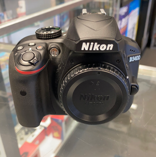 Nikon D3400 24.2MP Digital SLR Camera (Body Only)