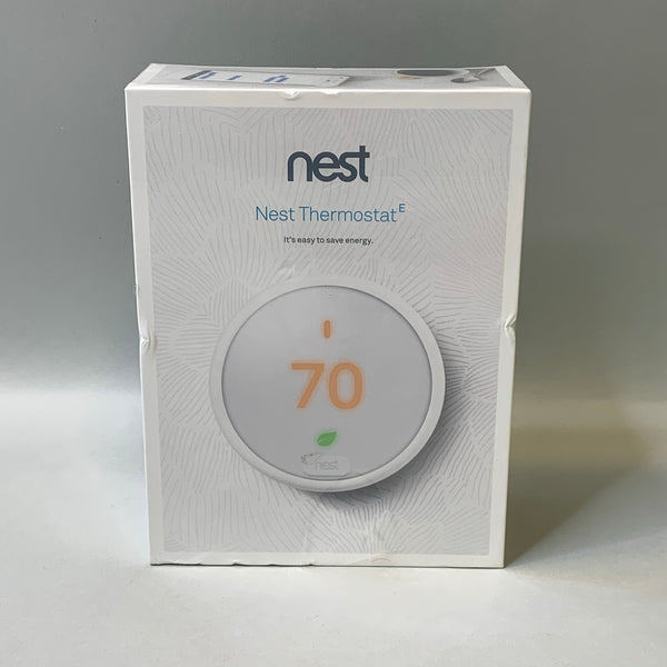 *NEW* Nest Smart Thermostat E - White