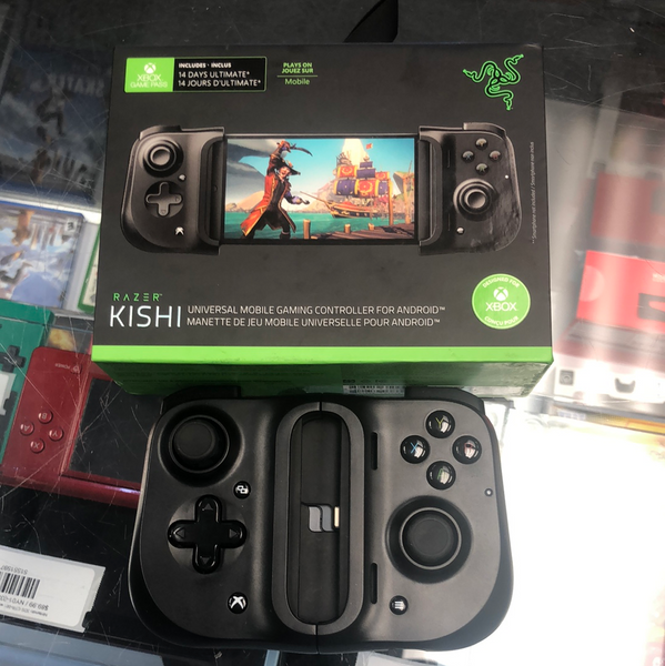 Razer Kishi Universal Mobile Gaming Controller for Android - Black