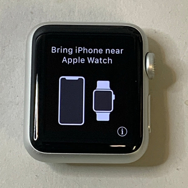 Apple Watch 38mm Series 1 Silver Aluminum