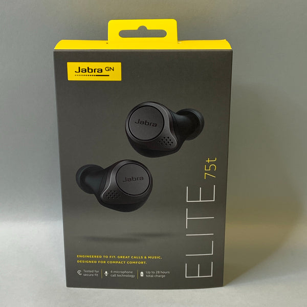 *NEW* Jabra - Elite 75t True Wireless In-Ear Headphones