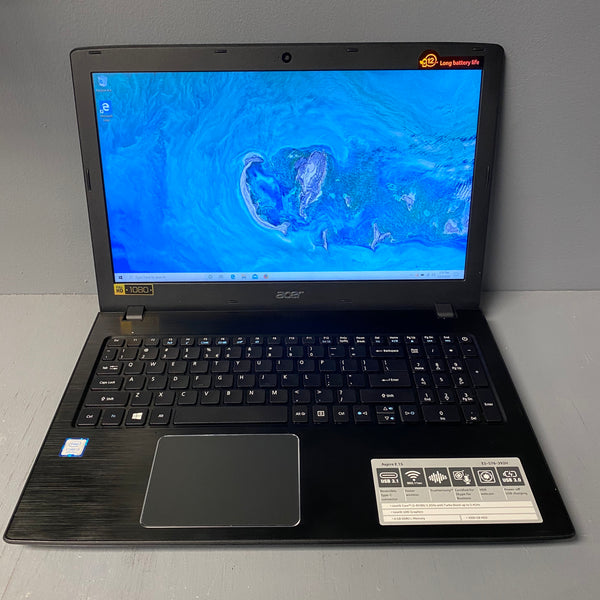 "Acer Aspire E5-576 15.6"" 2.2 GHz i3-8130U 6GB Ram 1TB HDD"