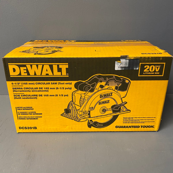 "*NEW* DeWalt 20V Max 6-1/2"" (165MM) Circular Saw (Tool Only)"