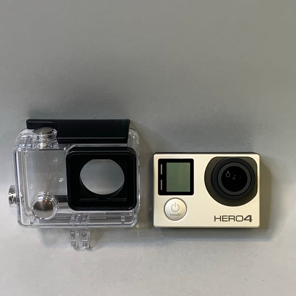 GoPro HERO4 Silver - High Definition Action Camera with Waterproof Case