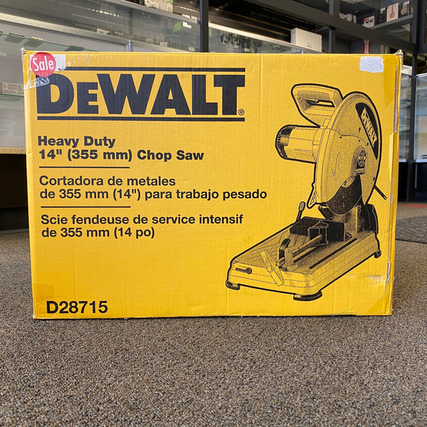 "*NEW* Dewalt D28715 Heavy Duty 14"" (355 MM) Chop Saw"