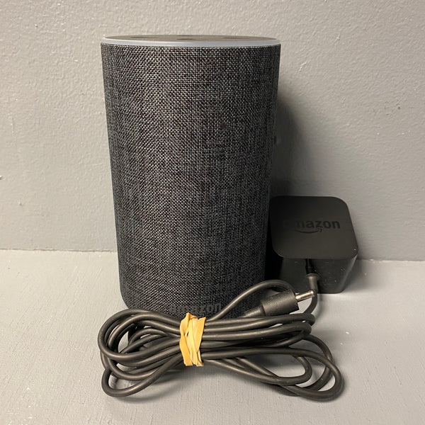 Amazon Echo 2nd Generation Smart Speaker with Alexa - Charcoal Fabric