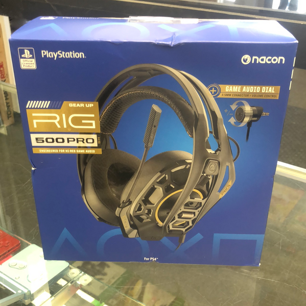 Sony Playstation Rig 500 Pro Wired Gaming Headset - Black