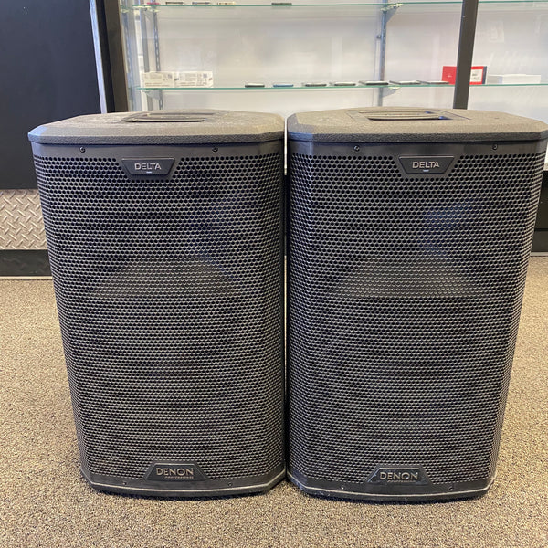 "Denon Delta 10 - 10"" 2-Way 2400 Watts Powered Loudspeaker with Wireless Connectivity (Pair)"