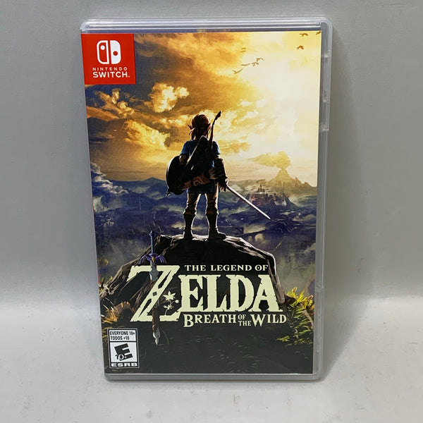 The Legend of Zelda: Breath of The Wild (Nintendo Switch, 2017)