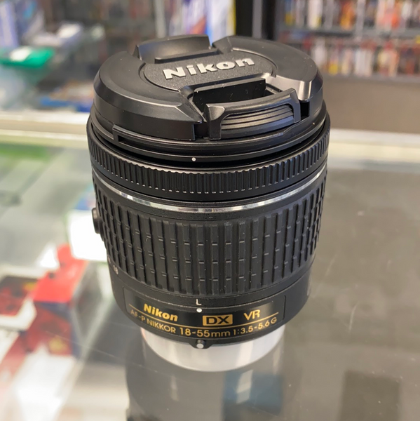Nikon DX VR AF-P 18-55MM 1:3.5-5.6G Camera Lens