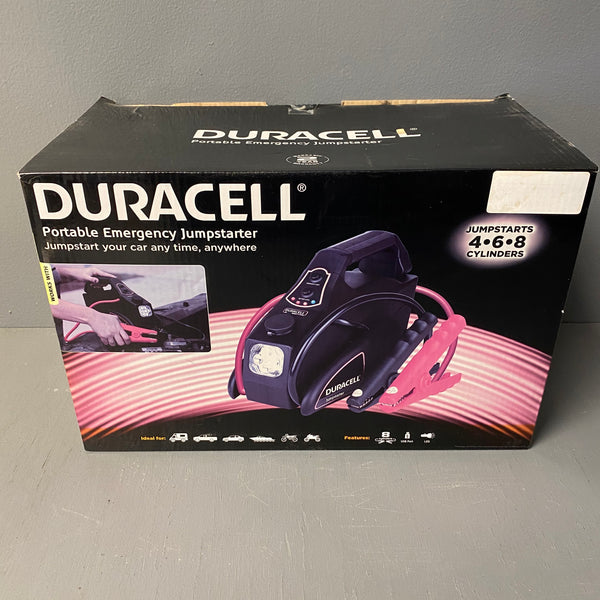 *NEW* Duracell DRLJS20 Portable Emergency Jumpstarter