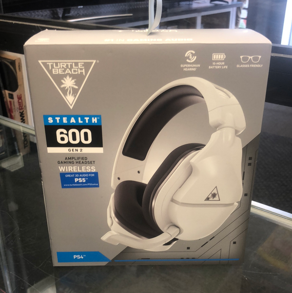 Turtle Beach Stealth 600 Gen 2 Wireless Gaming Headset for PS4/PS5 - White