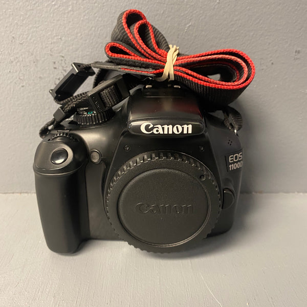 Canon EOS 1100D (Rebel T3) 12.2 MP DSLR Camera